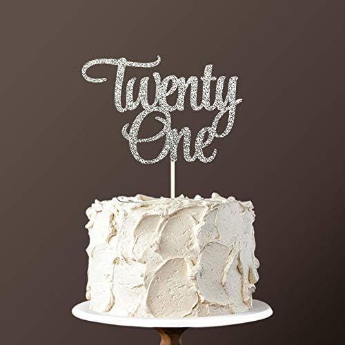 Miraculous Amazon De Pottelove Personalized Twenty One Happy Birthday Cake Funny Birthday Cards Online Aboleapandamsfinfo