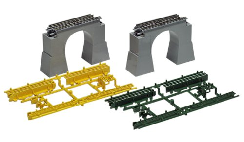 (TOMIX N scale Concrete Arch Bridge S70 F Set of 2 3237 Rail transport modelling Supplies)