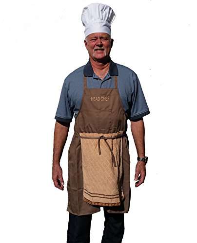 Deluxe Head Chef Prank Apron - Perfect Gag For Barbecue Parties ()