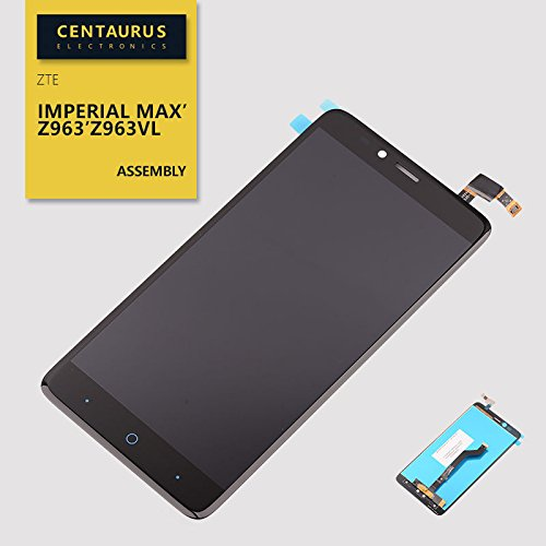 Imperial Replacement (Assembly For ZTE Imperial MAX Z963 Z963VL Touch Screen Digitizer LCD Display Replacement)