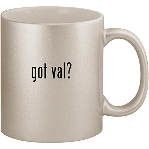 Used, got val? - 11oz Ceramic Coffee Mug Cup, Silver for sale  Delivered anywhere in USA