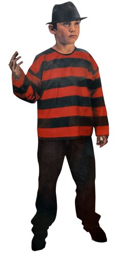 Night (Freddy Krueger Costume Kid)