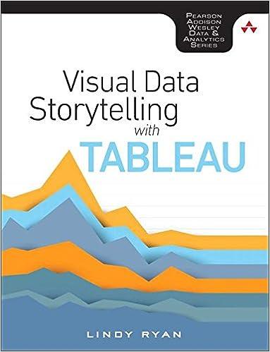amazon visual data storytelling with tableau addison wesley data