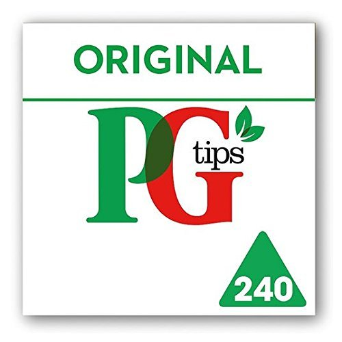 PG Tips Pyramid Teabags 240 per pack by Pg Tips