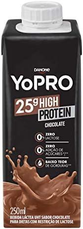 Bebida Láctea com 25g de proteína Chocolate YoPRO 250ml