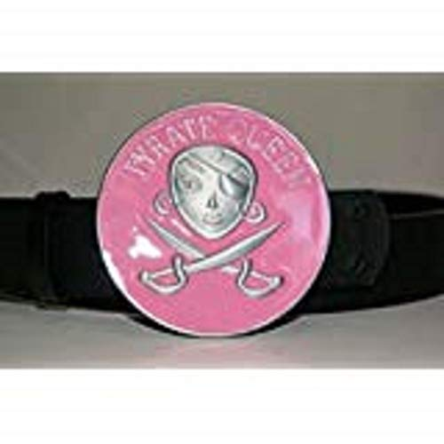 K's Novelties Pink Belt Buckle Pyrate Queen