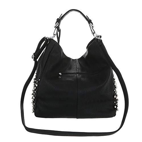 Ital Sac design L'épaule Noir Femme Pour À Porter r1rWngqxO