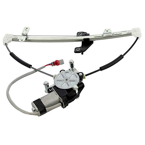 MILLION PARTS Rear Right Side Power Window Regulator with Motor for 2001 2002 2003 2004 2005 Honda Civic Sedan 4-Door