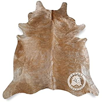 Amazon Com Medium Brindle Natural Cowhide Light