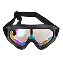TTnight Snow Goggles, Unisex UV Protection Ski Glasses Winter Sports Eyewear Windproof Snowmobile Motorcycle Protective Glasses with Adjustable Straps