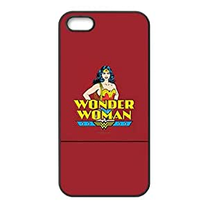 Iphone 5,5S 2D DIY Hard Back Durable Phone Case with Wonder Woman Image