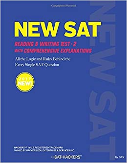 NEW SAT Practice Test 2: +70 SAT HACKERS RULES for the Sentence