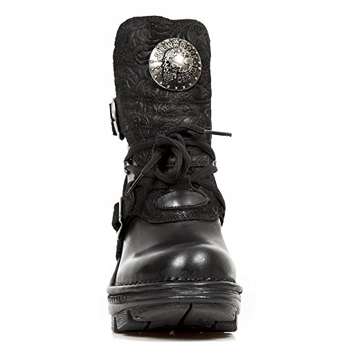 New Noir Trail M Rock Leather TR061 Neo Womens Boots Gothic RZRSqUP