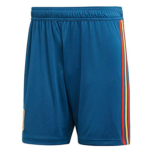 adidas 2018-2019 Spain Home Football Shorts (Blue)