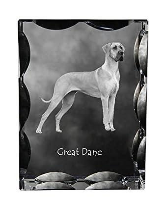 Deutsche Dogge, Kubische Kristall Mit Hund, Souvenir, Dekoration,  Limitierte Auflage, Sammlung