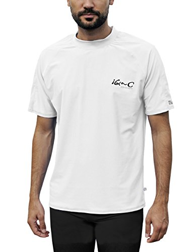 iQ-Company Herren UV Kleidung 300 Shirt Loose Fit, White, XXXL, 6481222100-483XL