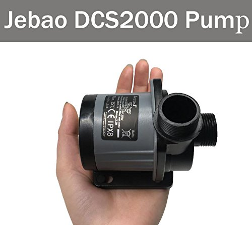 Jebao DCS-2000 528 GPH marine Controllable DC water Pump with Controller for nano aquarium coral reef fish tank sump Circulation