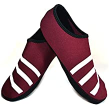 Nufoot Sporty Nu Indoor Womens Shoes Slipper, Crimson, Large