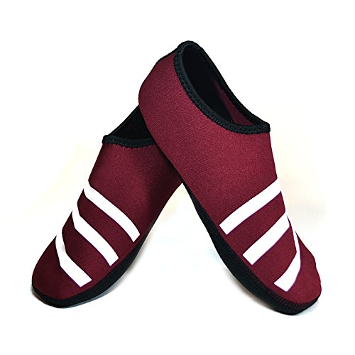 Nufoot Sporty Nu Indoor Womens Shoes Slipper, Crimson, Medium