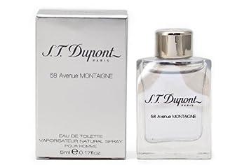Amazon.com: S.T. Dupont 58 Avenue Montaigne Eau de Toilette 5ml ...
