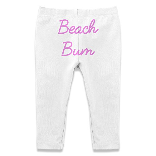 Twisted Envy Baby Beach Bum Leggings Trousers 18 - 24 Months White Bum Bum Trousers