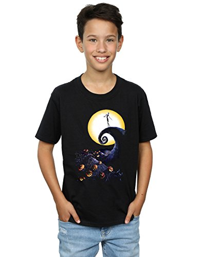 Disney Mickey Mouse Halloween Tee for Boys Size L (10/12) Black