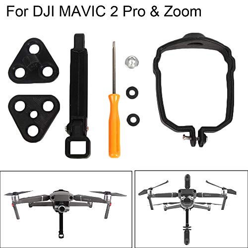 SAQIMA Holder Protector for DJI Mavic 2 Pro/Zoom Drone 360° Panorama Camera Mount Bracket Holder Safety Professional Accessory ()