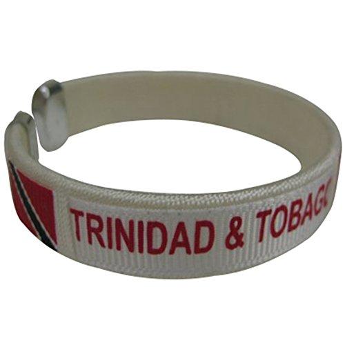 Trinidad and Tobago Flag C Bracelets Wristbands - 1 (Trinidad Wristband)