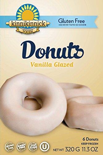Kinnikinnick Gluten Free Vanilla Glazed Donuts [Case of 8]