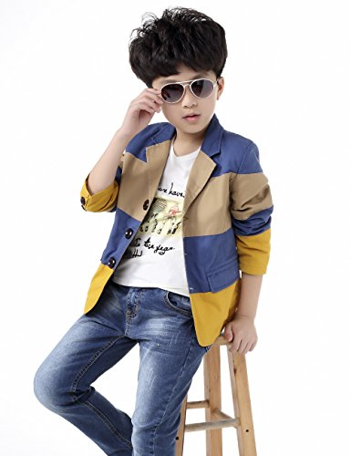 BYCR Boys' Fashion Three Colors Cotton Blazer Jacket Size 4-18 No. 71422192