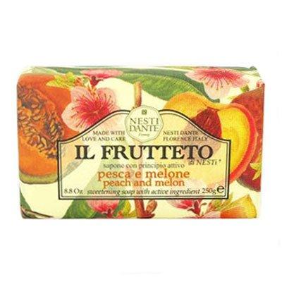 (Nesti Dante Nesti dante il frutteto sweetening soap - peach and melon, 8.8oz, 8.8 Ounce )