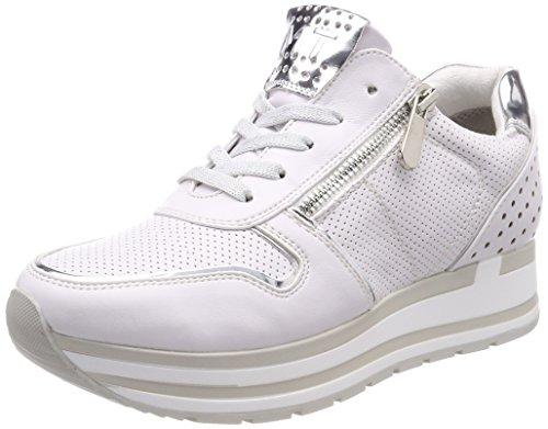 white Marco Blanco Tozzi Para Comb 23717 Mujer Zapatillas YzwYr
