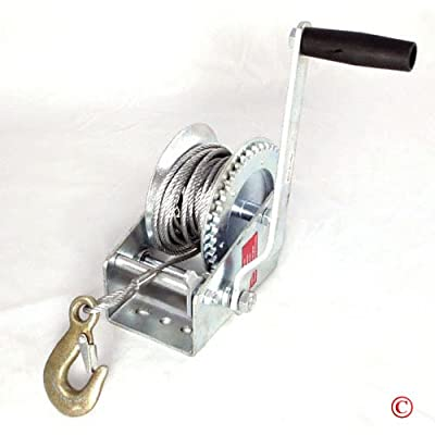 1200Lb Hand Winch: Home Improvement