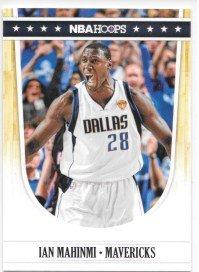 Ian Mahinmi 2011-12 NBA Hoops Dallas Mavericks Card #43