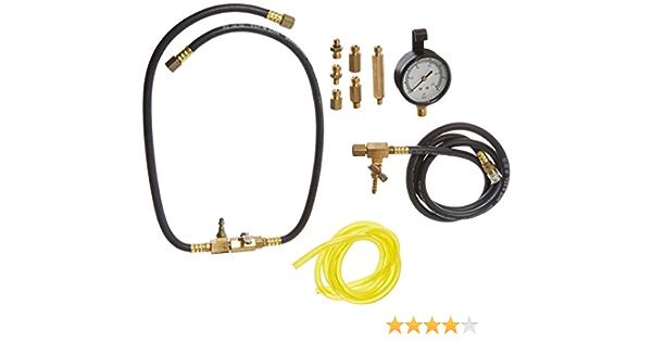 Probador de medidor de presi/ón de combustible de coche autom/ático medidor de presi/ón de bomba de inyecci/ón de aceite de gasolina