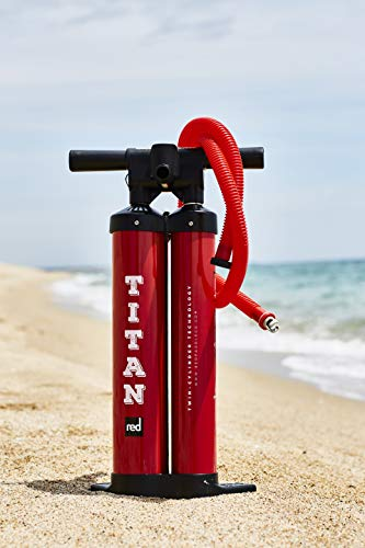 (Red Paddle Co Titan Pump - Inflatable SUP, Paddle Board and Kite Pump)