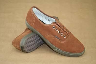 Vans Authentic Lo Pro - Zapatillas de ante para mujer marrón (Suede) Monk's Robe 4.5 UK