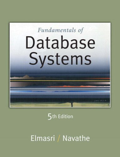 Fundamentals of Database Systems, 5th Edition