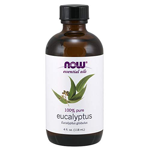 (NOW Essential Oils, Eucalyptus Oil, Clarifying Aromatherapy Scent, Steam Distilled, 100% Pure, Vegan, 4-Ounce)