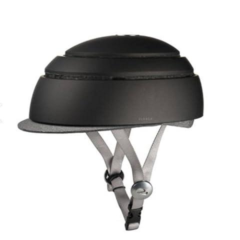 Closca Fuga Foldable Bicycle Helmet Black M-55.5~57.5cm - Folding Bike Helmet