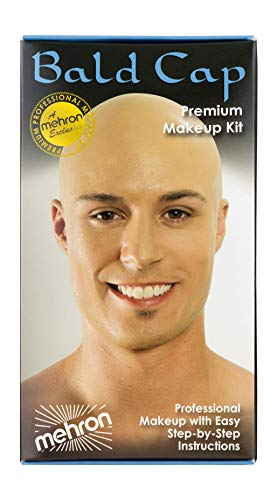 Mehron Makeup Premium Character Kit (Bald Cap)