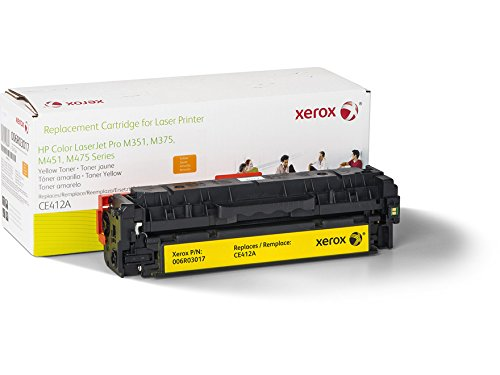 Xerox Remanufactured Yellow Toner Cartridge, Alternative for HP CE412A 305A, 2600 Yield (006R03017) by Xerox