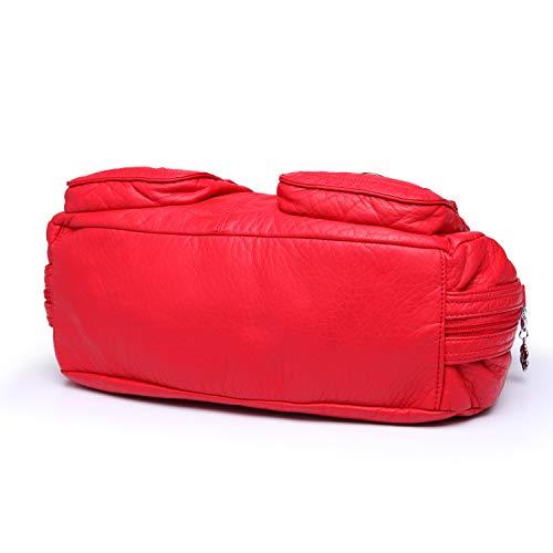 Mujeres Hombro Y Para Ángel Rojo 1593 Kiss 2 Bolsas Bolsos De qIn0Ot