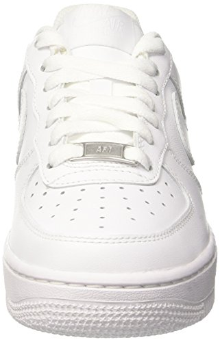 Air White '07 White Wmns Scarpe Force Nike Donna da Basketball 1 Bianco Blanco AI5qx7