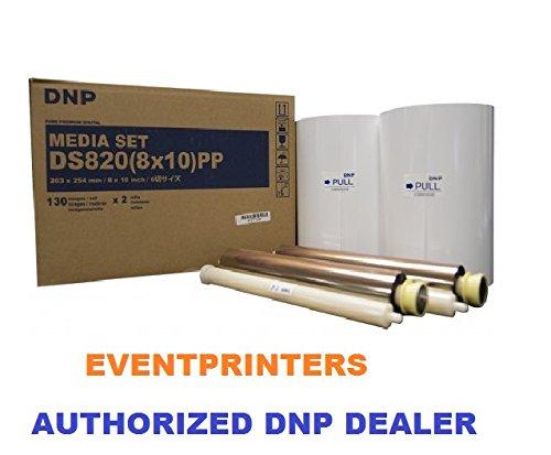 DNP 8x10'' media for DS820A Printer (260 Total Prints)