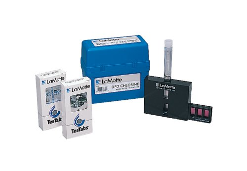 LaMotte 3308-01 Model SL-26 DPD Free, Total and Combined Chlorine Individual Test Kit, 0.2, 0.4, 0.6, 0.8, 1.0, 1.5, 2.0, 3.0ppm Cl (Chemical Sample Kit)