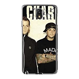 Samsung Galaxy Note3 Xmh4504EOIT Provide Private Custom Stylish Good Charlotte Band Series Shock-Absorbing Hard Phone Cases -SherriFakhry