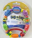 Baby : Nuby Bug-a-Loop Teether Bead Necklace (4-Pack)