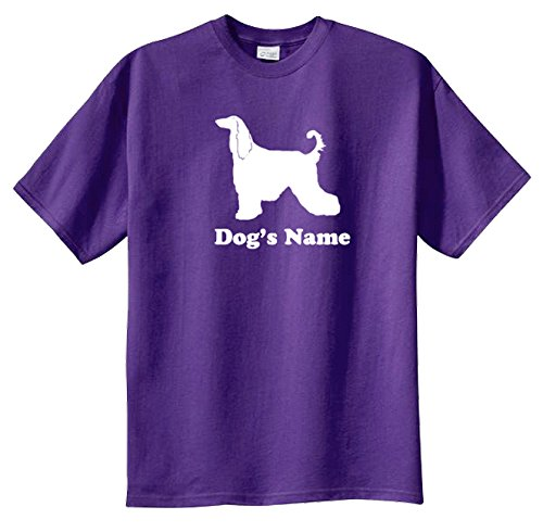 T-shirt Kennel - Afghan Hound Personalized Tshirt with Your Dog or Kennel Name