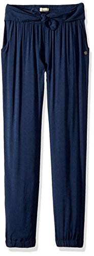 Aloha Pants - Roxy Girls' Big Aloha Beach Pant, Dress Blues, 12/L